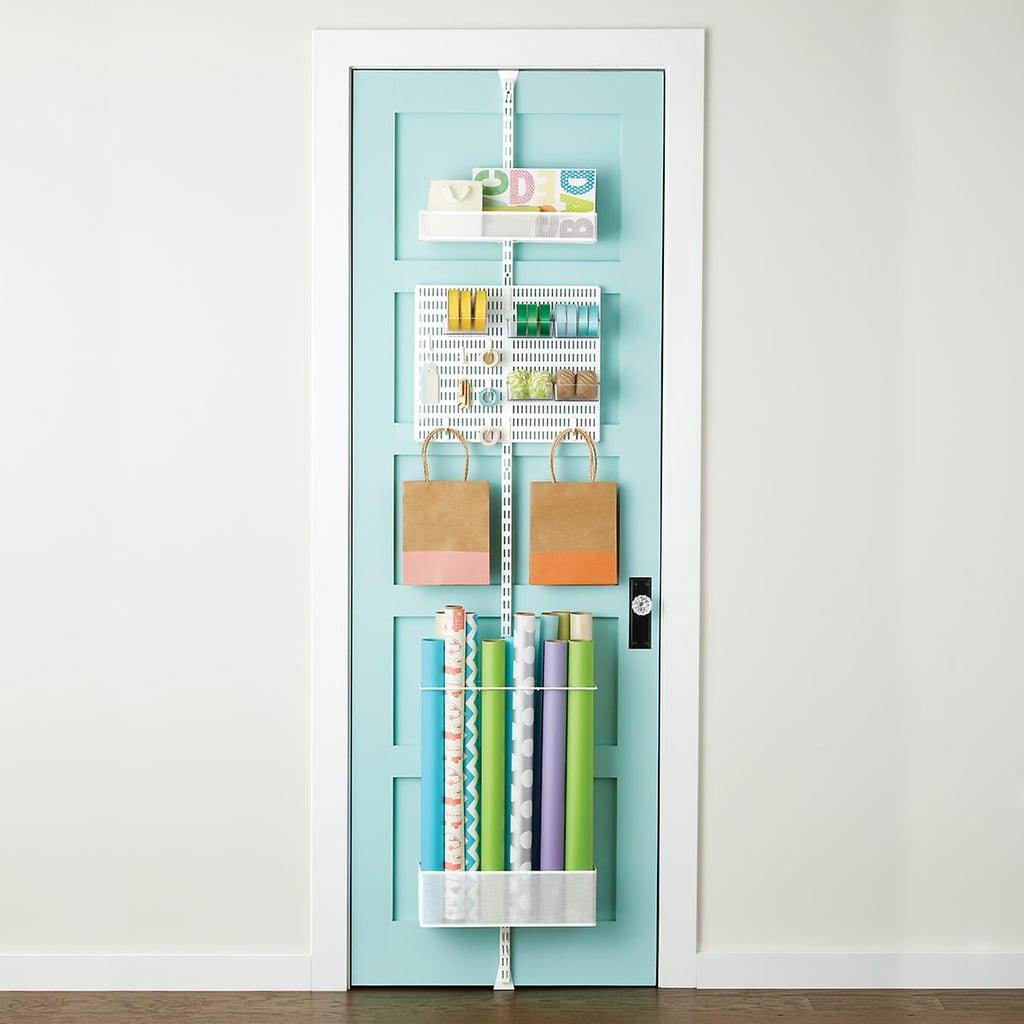 Elfa Utility Gift Wrap Door & Wall Rack