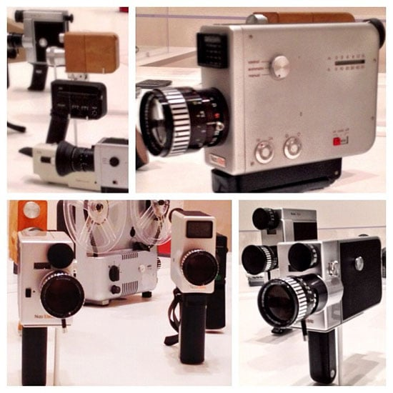 Braun video cameras from the late 1960s.