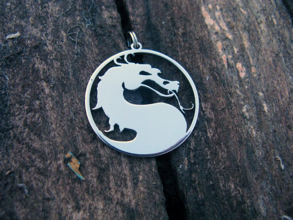 Silver Mortal Kombat Necklace ($17)