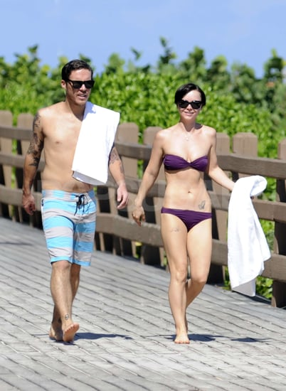 Photos of Christina Ricci in a Bikini in Miami With Photographer Curtis Buchanan