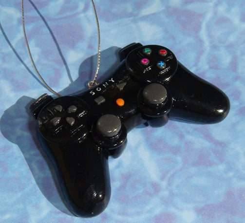 Playstation controller ornament ($35)