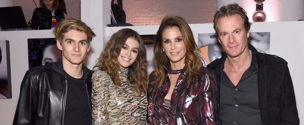 Kaia Gerber Has the Support of Her Genetically Blessed Family on a Big Night in NYC