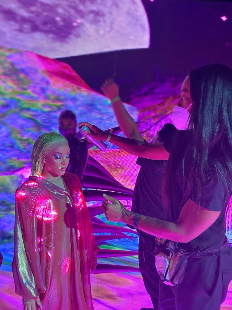 Doja Cat's Green Hair Inspiration at the 2020 MTV VMAs