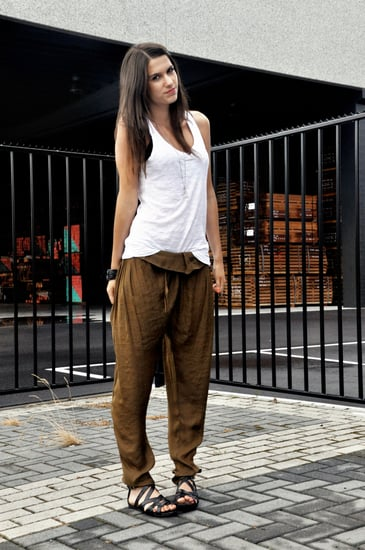 Love the tapered trousers!