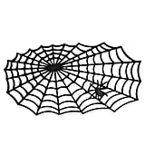 J&M Home Fashions Halloween Spiderweb  Mat