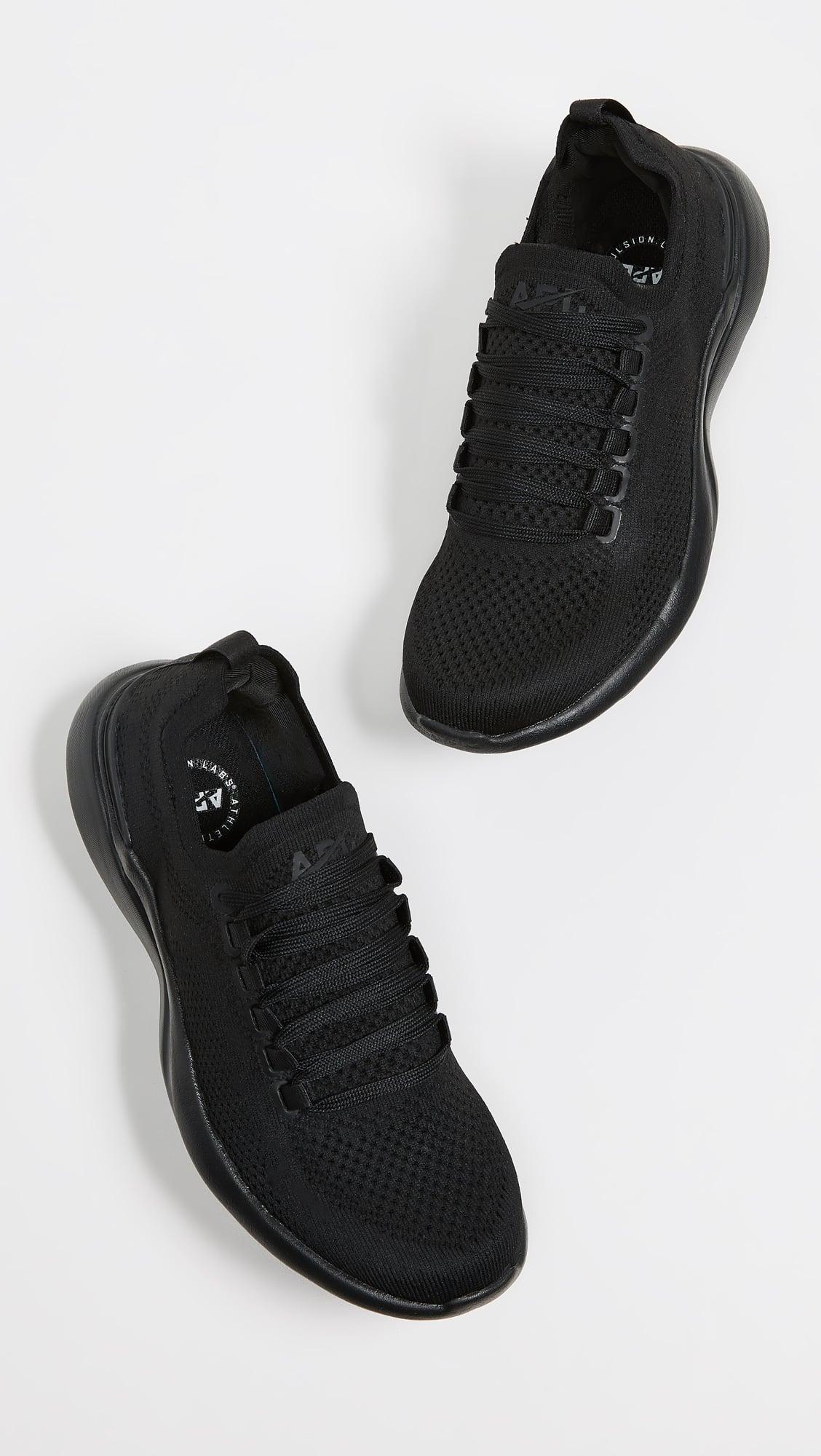 apl all black sneakers