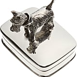 Ari D. Norman Scottie Dog Pillbox-Silver ($215)