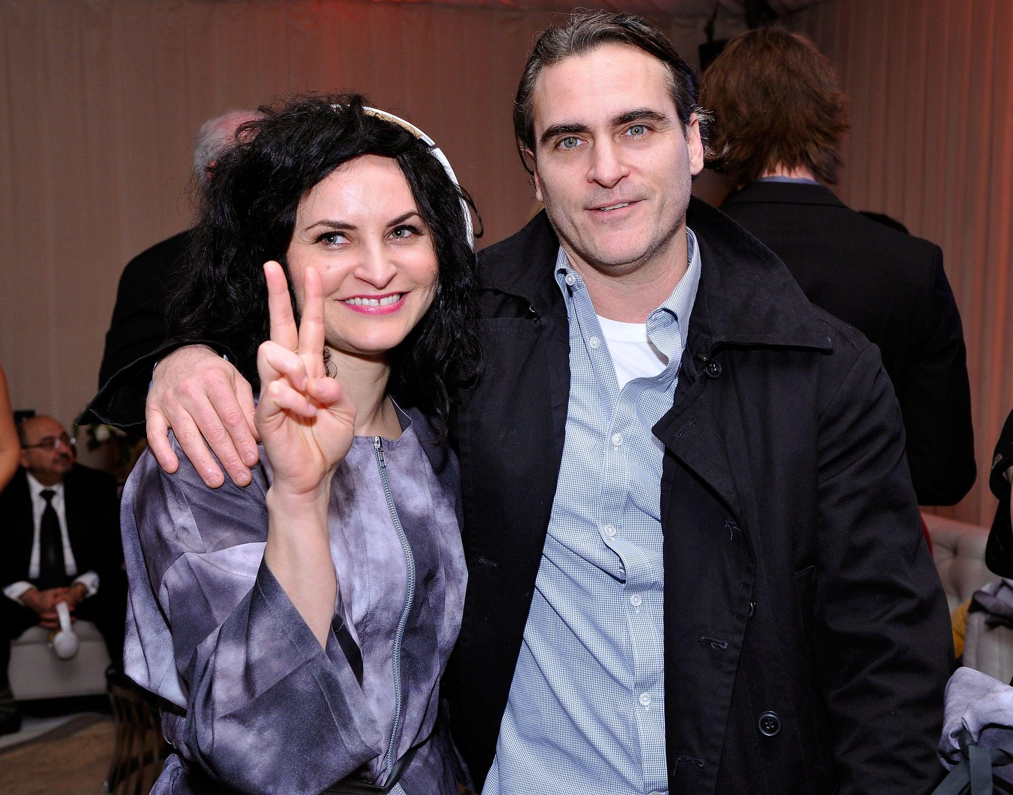 Joaquin Phoenix brought his sister Rain Phoenix to the Art of Elysium | Go  Inside the Most Glamorous Pre-Golden Globes Parties! | POPSUGAR Celebrity  Photo 34