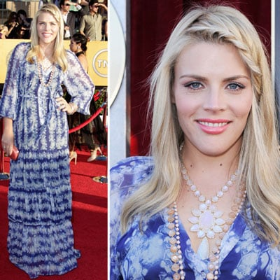 Pictures of Busy Phillips in Boho Printed Dress at the 2012 SAG Awards: Rate it or Hate it?