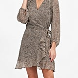 Banana Republic Ruffle-Wrap Dress