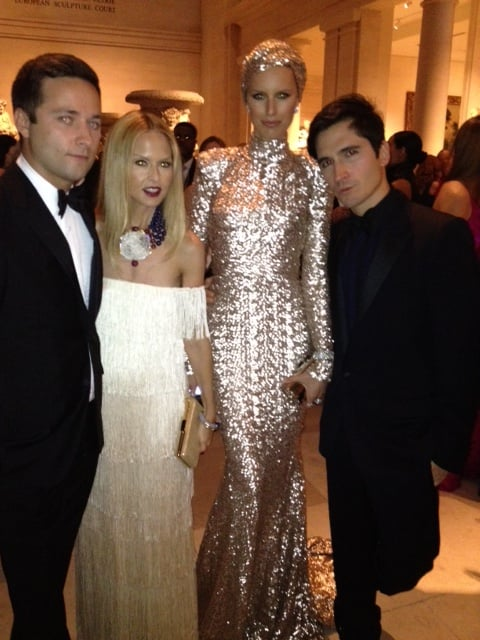 Rachel Zoe was the life of the party and snapped pics with all her famous friends, such as Karolina Kurkova and the Proenza Schouler designers. Source: Twitter User RachelZoe