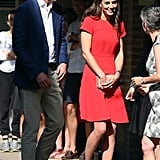 Prince William and Kate Middleton Out in London August 2016