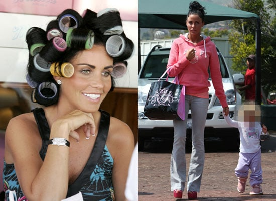 Photos of Jordan aka Katie Price Who Is Banned From Jade Goody's Funeral