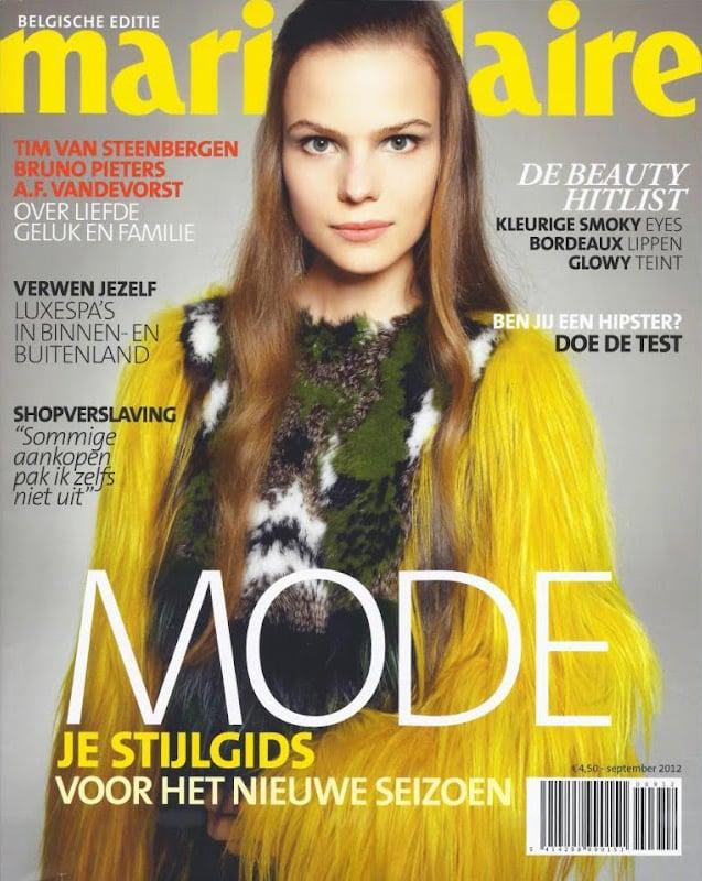 Belgium Marie Claire September 2012