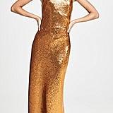 Galvan London Gilded Roxy Sequin Dress
