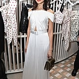 Gemma Chan at the Self-Portrait Store Opening