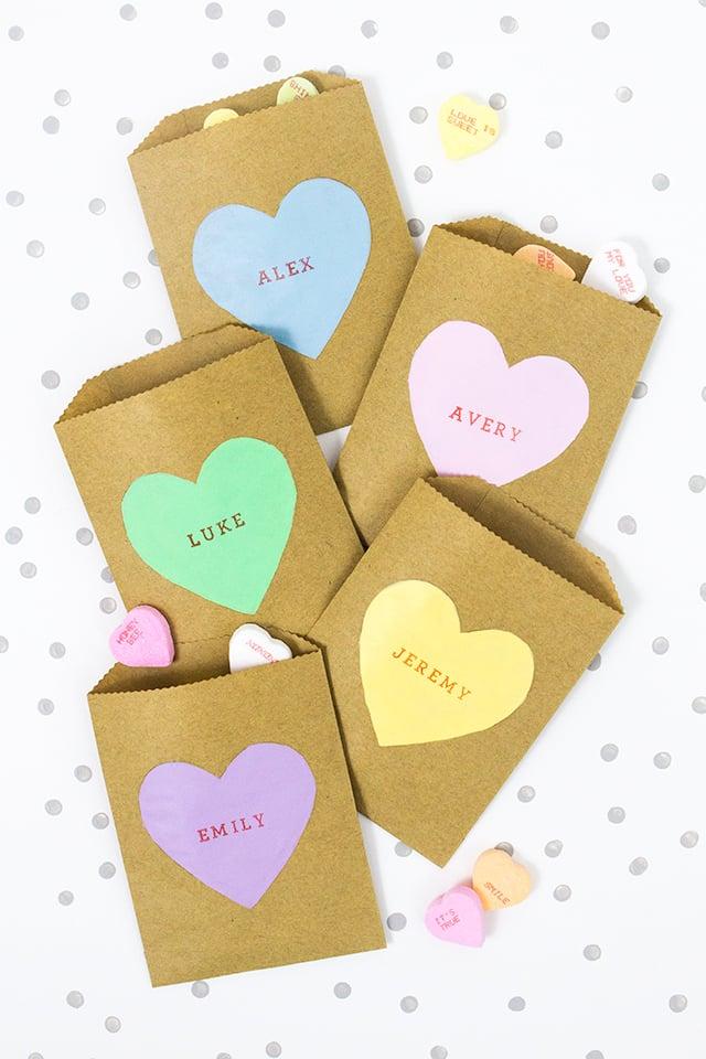Conversation Heart Bags