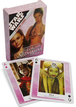 The Ladies of Star Wars Cards ($6)