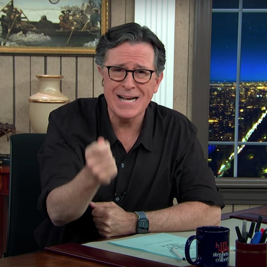 Stephen Colbert's Monologue After Trump's Election Briefing
