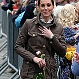 Kate Middleton and Prince William Visit Cumbria June 2019
