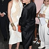 Mary-Kate Olsen and Ashley Olsen had fun at the Fresh Air Fund's Spring Gala in NYC.