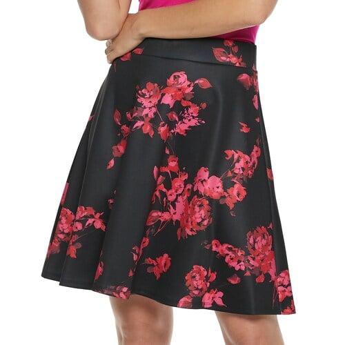 Apt. 9 Circle Mini Skirt