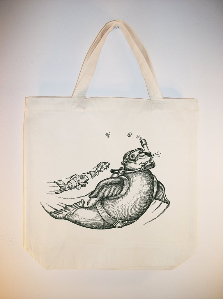 Scuba Diving Seal Market Bag ($8)