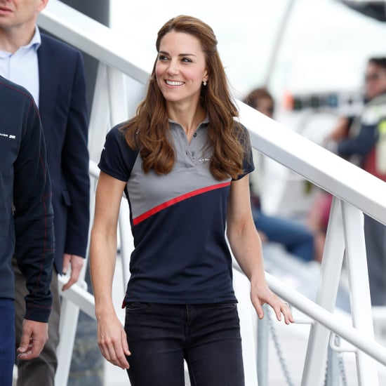 Kate Middleton Wearing Trainers