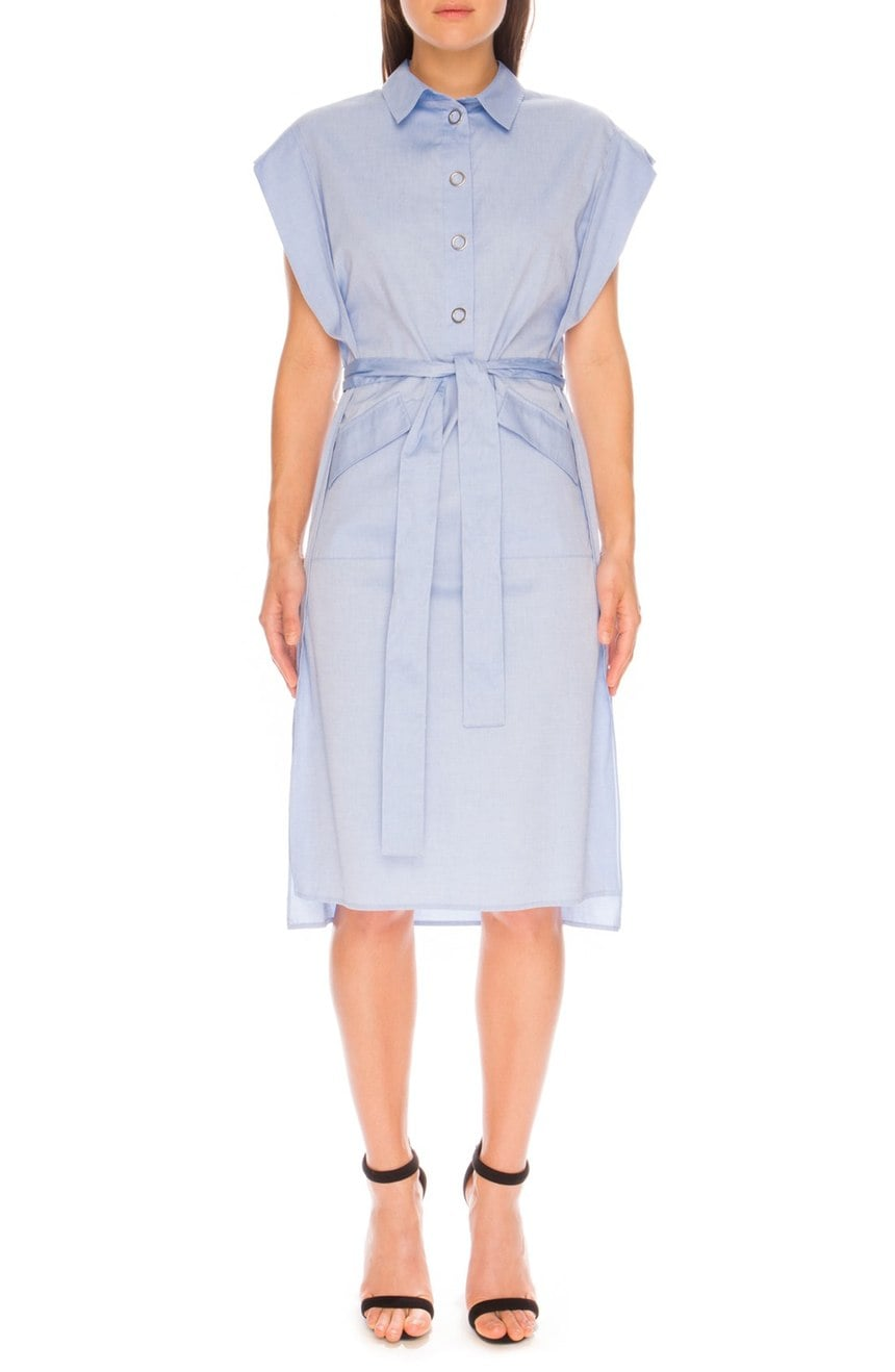 C/MEO 'Midnight' Cotton Shirtdress ($185)