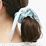 House of Lafayette Bambou Bow Corduroy Scrunchie