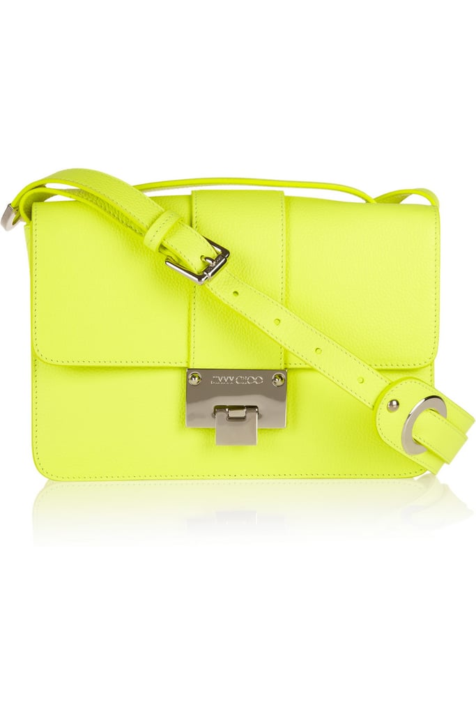 Jimmy Choo Rebel Neon Shoulder Bag ($690, originally $1,150)