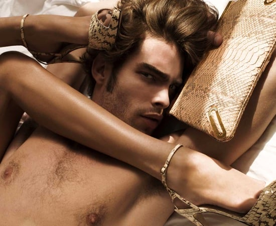 Brian Atwood 2009 Spring Campaign Featuring Jon Kortajarena and Rene Russo