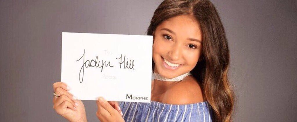 Teen Takes Senior Photo With Jaclyn Hill Morphe Palette