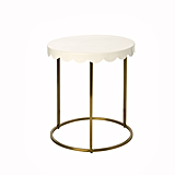 Scallop Accent Table ($80)