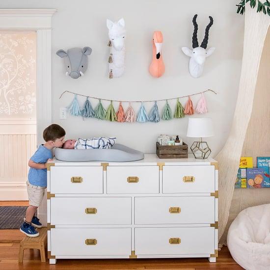Nursery Decor Ideas From Joanna Gaines: Joanna Gaines Nursery Paint Color