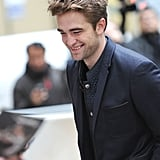 Robert Pattinson was out in NYC.