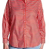 Foxcroft Brooke Striped Long Sleeve Shirt