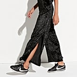 K/lab High-Waist Wide-Leg Velvet Pants