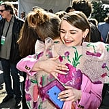Joey King and Kaitlyn Dever at the 2020 Spirit Awards