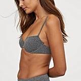 H&M Padded Bikini Top and Brazilian Bikini Bottom