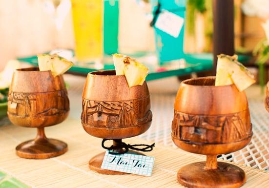 Tropical Tiki Goblets