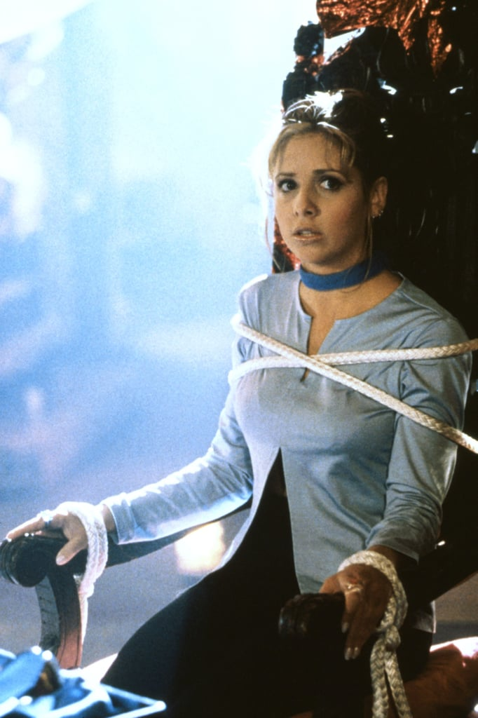 Sarah Michelle Gellar As Buffy Summers Buffy The Vampire