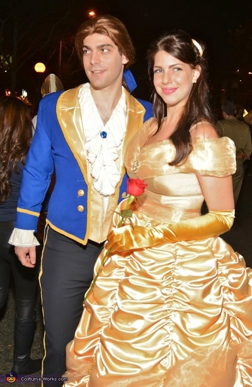 Belle And The Beast Disney Princess Halloween Costumes