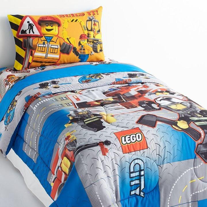 Lego City Reversible Bed Set   Lego Gifts For Kids   POPSUGAR Moms ...