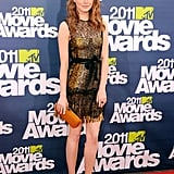Emma Stone 2011 MTV Movie Awards Pictures