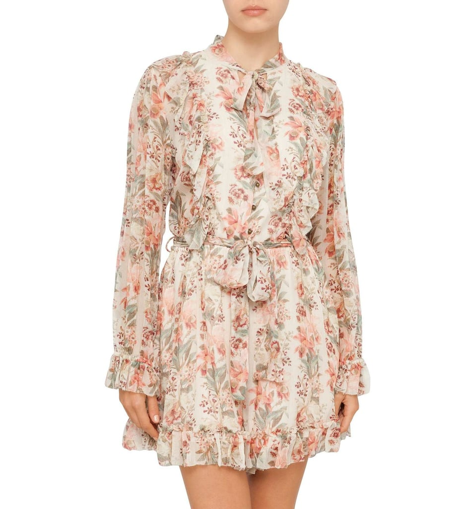 Zimmermann Folly Necktie Playsuit ($650)  Dicount: 20% will be deducted at checkout.