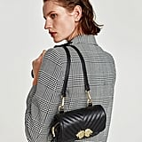 Zara Crossbody Belt Bag With Lions Detail