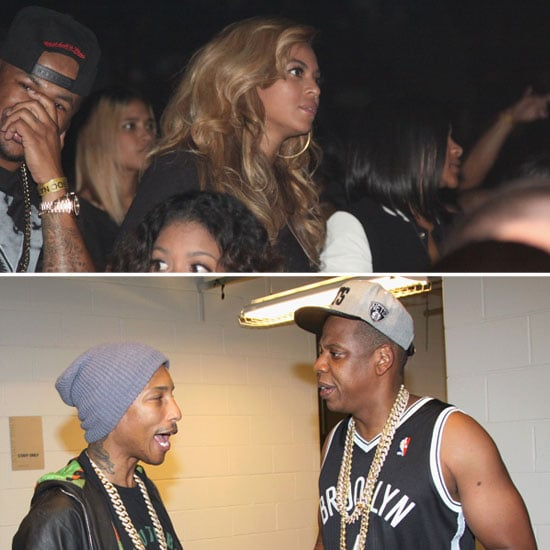 Jay-Z and Beyoncé Celebrate the Barclays Center