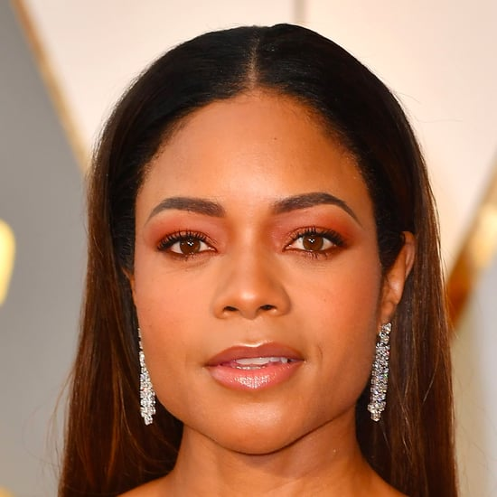 Naomie Harris Hair and Makeup Oscars 2017