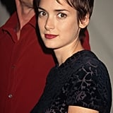 Winona Ryder With a Dark Pixie Cut